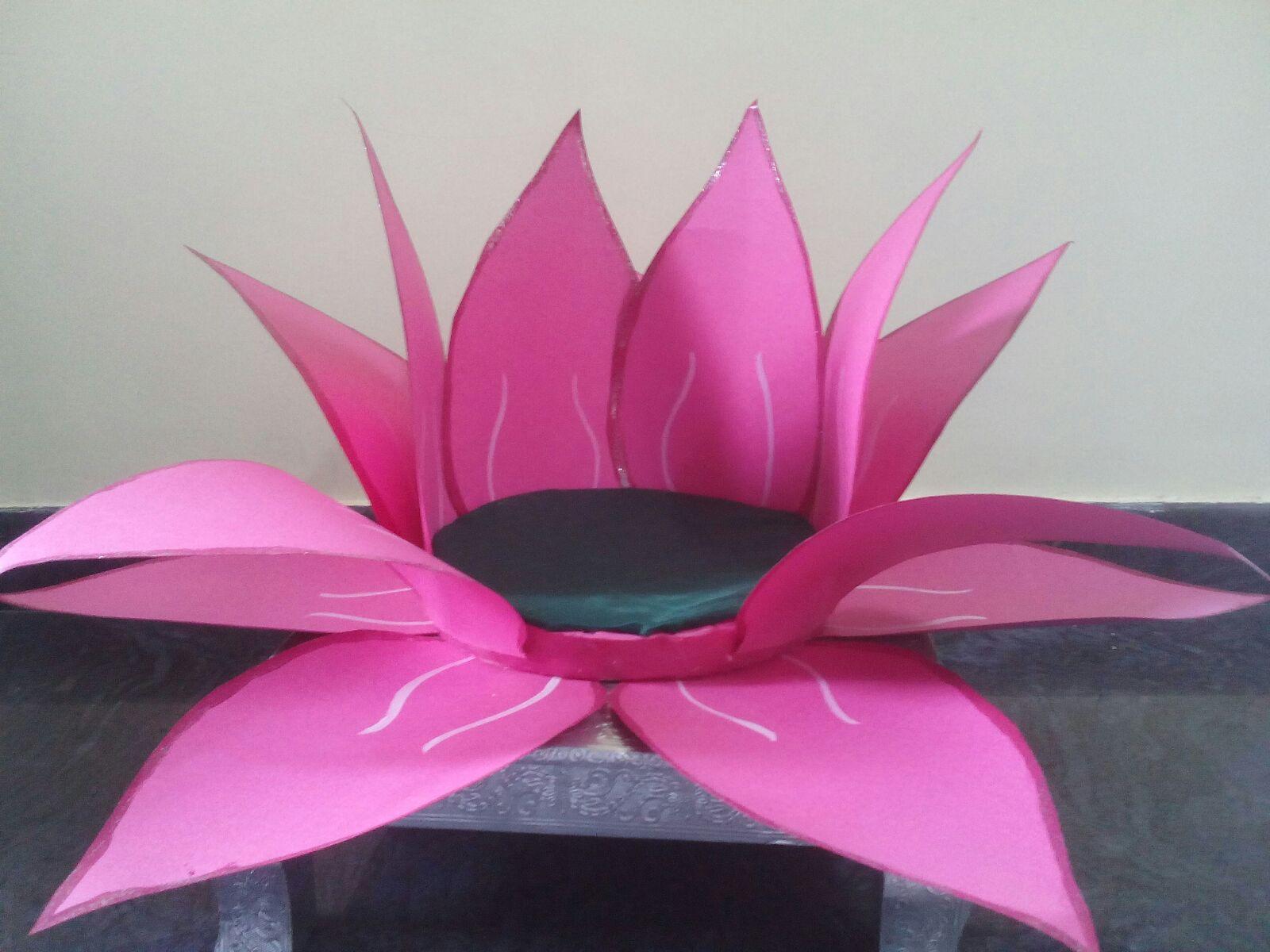 Chart Paper Lotus Flower Homeschoolingforfree