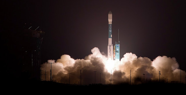 A United Launch Alliance (ULA) Delta II rocket carrying NASA's Ice, Cloud and land Elevation Satellite-2 (ICESat-2) mission lifts off from Space Launch Complex-2 at Vandenberg Air Force Base, California, on Sept. 15, 2018. ICESat-2 is the 155th and final launch of the Delta II rocket. From its origin as the launch vehicle for the first Global Positioning System (GPS) satellites to NASA's Earth observing, science and interplanetary satellites including Mars rovers Spirit and Opportunity to vital commercial communication and imaging satellites, the Delta II rocket has truly earned its place in space history.    Photo credit: United Launch Alliance