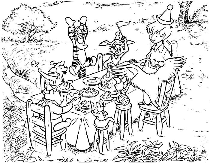 Disney Cartoon Characters Coloring Pages - Cartoon ...