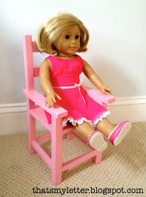 doll chair for American Girl doll