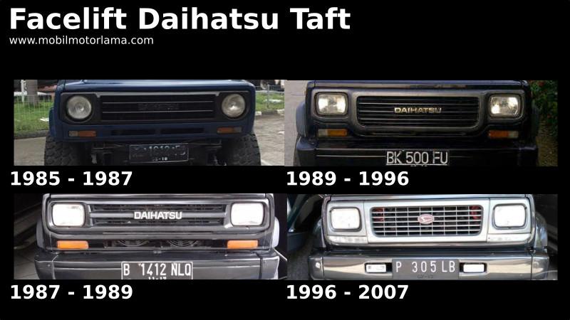 Jenis Dan Perbedaan Daihatsu Taft Hiline Dan Feroza Mobil Motor