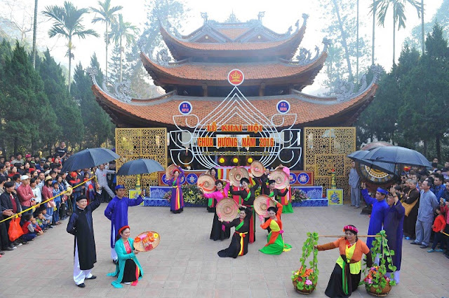 10 interesting festivals on the first lunar month in the north of Vietnam 2