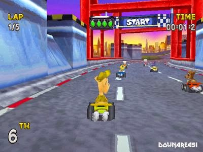 rascal racers psx