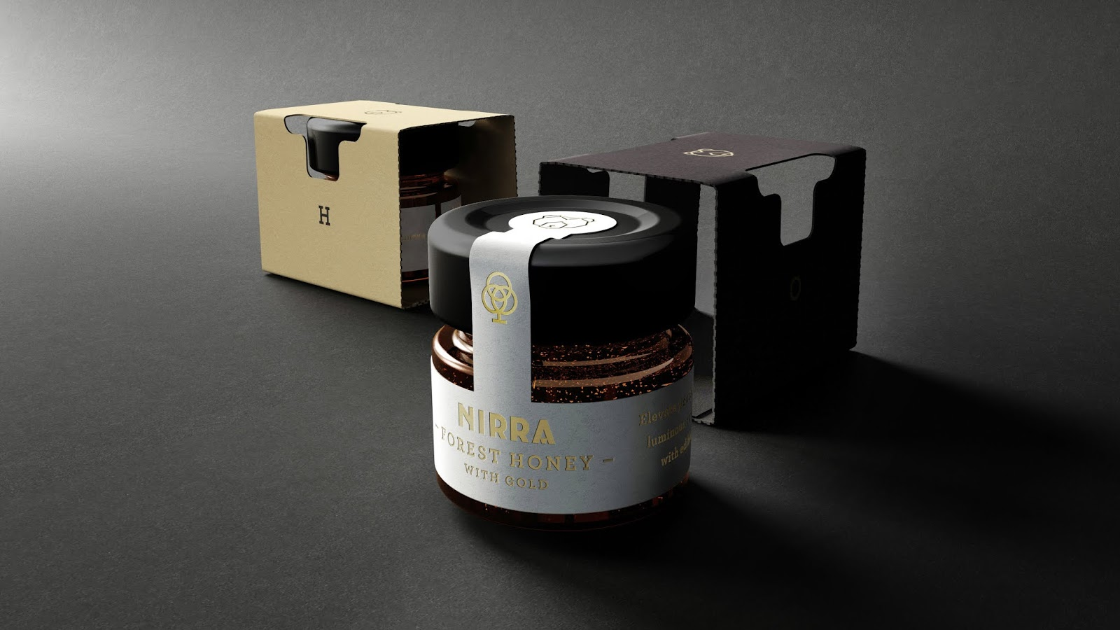 Nirra Honey Gift Box On Packaging Of The World Creative Package