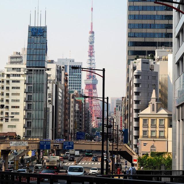 札ノ辻橋から東京タワー