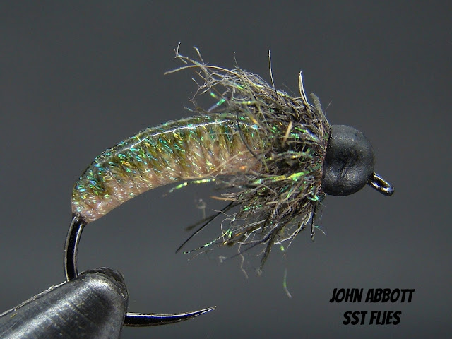 Rock Solid, Euro Nymph, Czech Nymph, Caddis Pattern, Fulling Mill Hooks, Deer Creek  UV Resins
