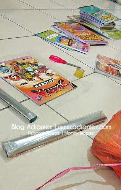 Buku Sekolah | Kisah Tanda Nama & Balut