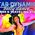 Belly dance turns and traveling steps