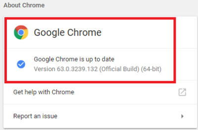 how to update google chrome software