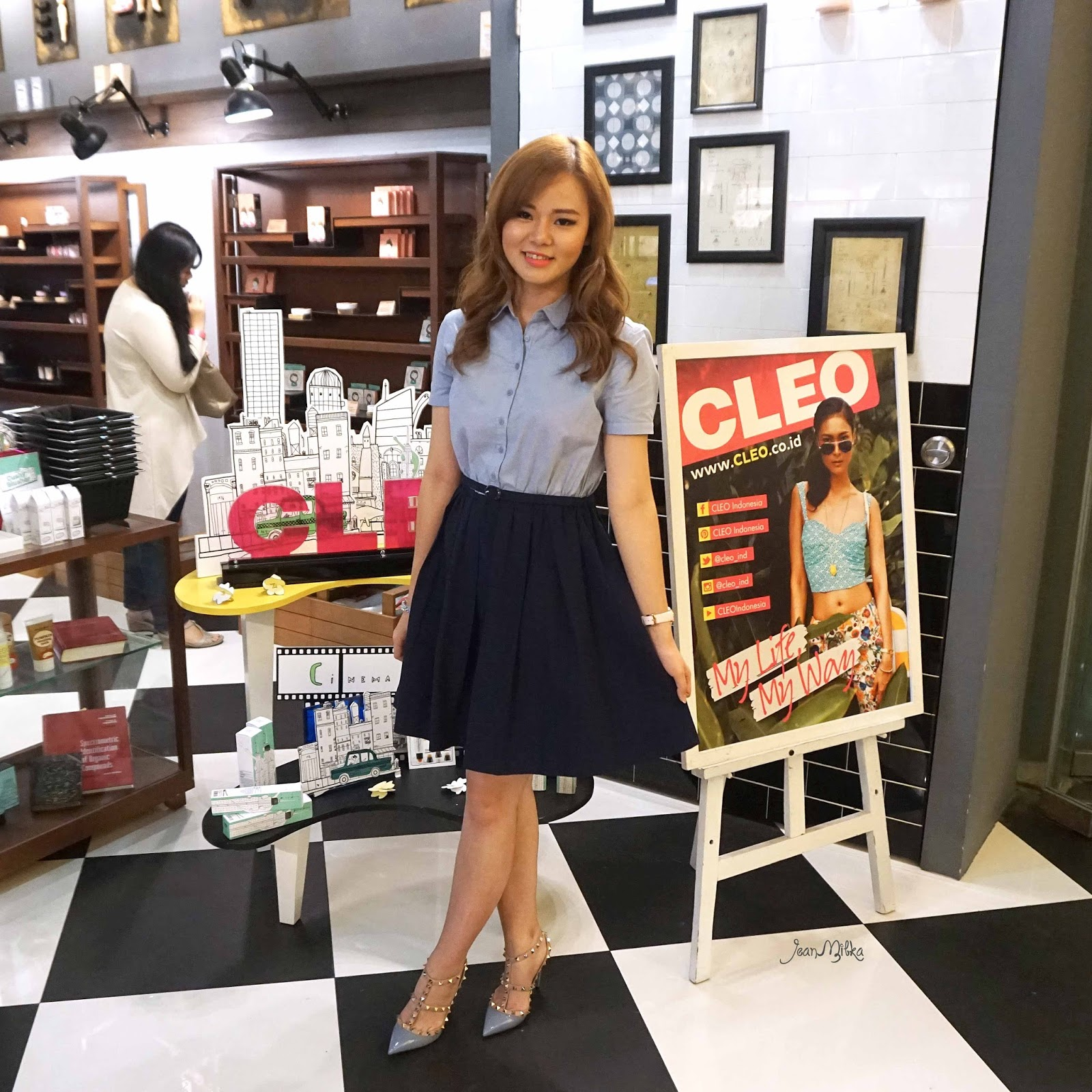 jean milka, too cool for school, cleo, magazine, majalah, event