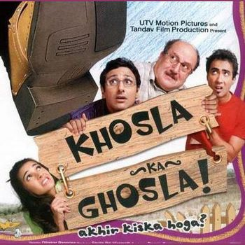 Khosla Ka Ghosla! (2006) Hindi 720p BluRay 700MB ESubs