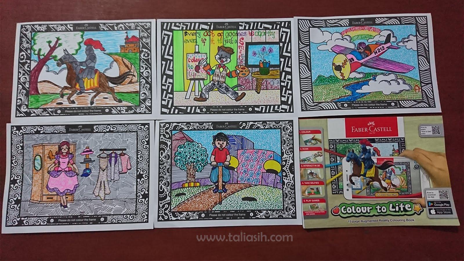 Cara Merelaksasikan Diri Dengan Colour To Life Faber Castell