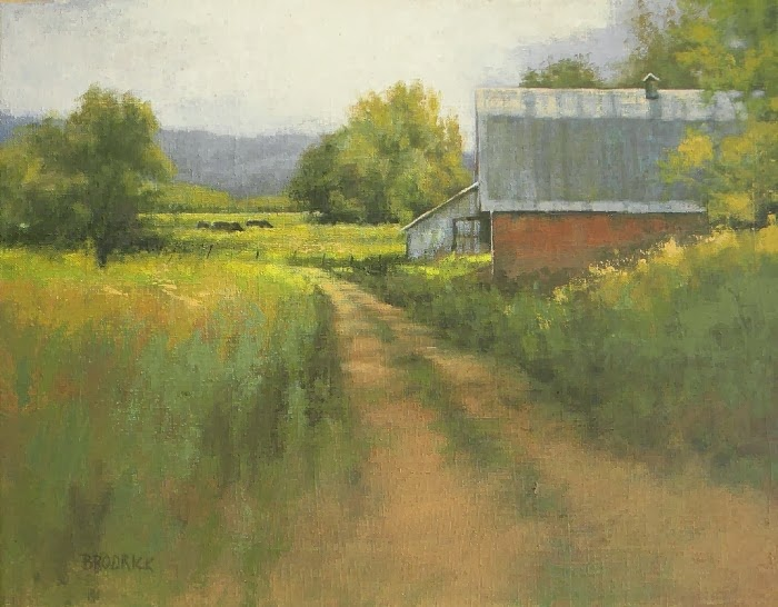 J.M. Brodrick - Late Summer Pasture