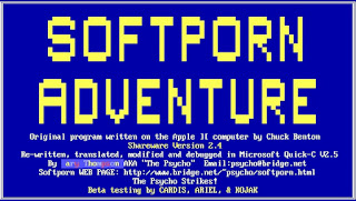 Softporn Adventure versión para PC - Gary Thompson
