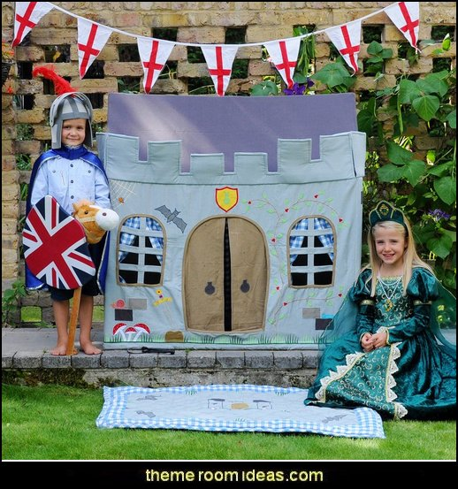 Knights Castle Playhouse  Medieval-Knights & Dragons decorating ideas - knights castle decor - knights and dragons theme rooms - dragon theme decor - prince decor - medieval castle wall murals - knights and dragons baby bedding - Knights Medieval bedding - dragon bedding - dragon murals - dragon themed bedroom ideas - Princess decor