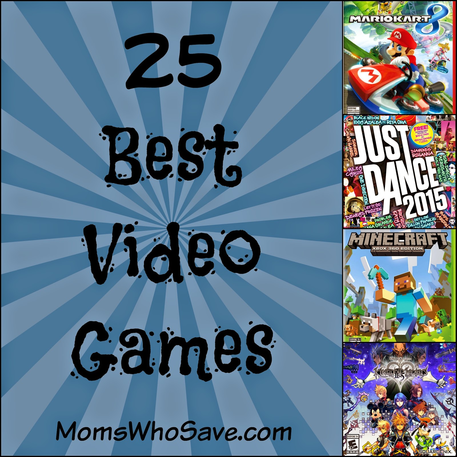 25 Best Video Games of the Year!