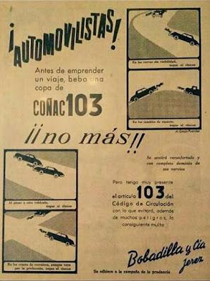 coñac, 103, bobadilla, brandy, conductor, automovilistas