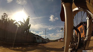 Saindo de Santo Antônio do Norte/MG.