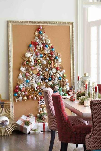 Ideas para crear un árbol de Navidad alternativo