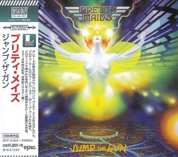 PRETTY MAIDS - Jump The Gun [Japan Blu-Spec CD2 remastered] (2018) full