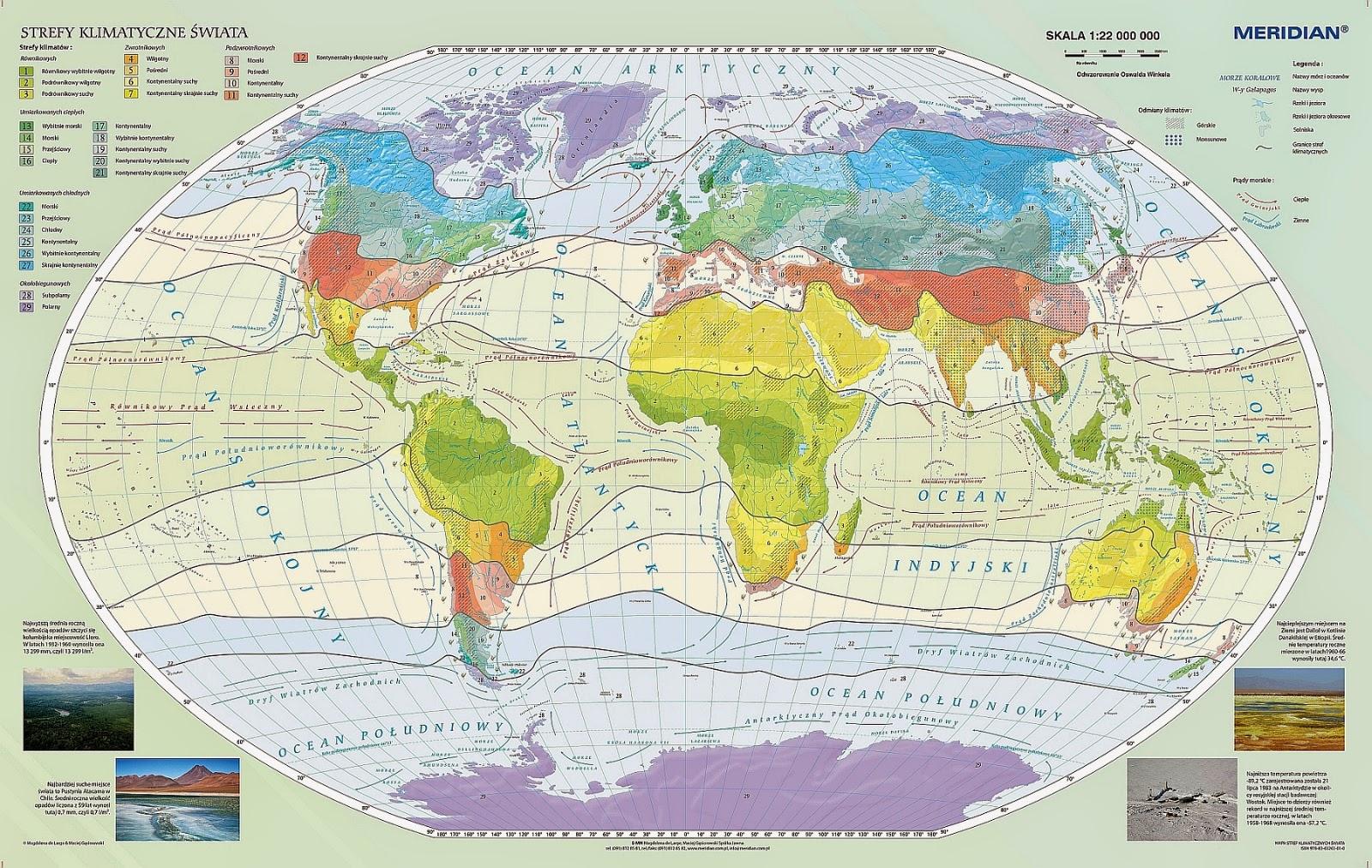 Climates classification by Wincenty Okołowicz (Word)