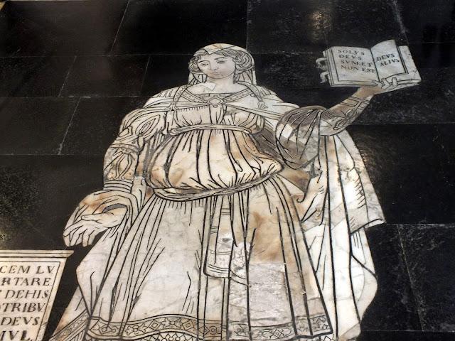 Destalles de la Catedral de Siena