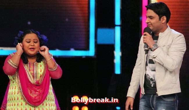 Bharti Singh and Kapil Sharma, Alia Bhatt on India's Got talent