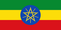 Le Chameau Bleu - Drapeau EThiopien