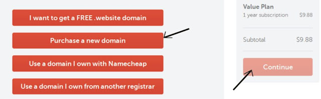 how to register a new doman with namecheap