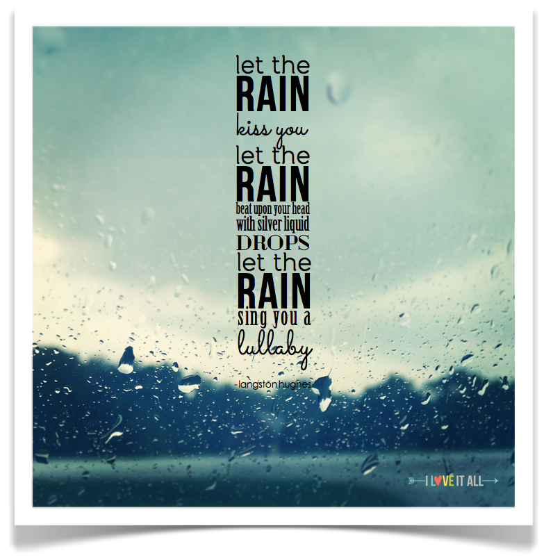 #quotes #rain #kiss #lullaby