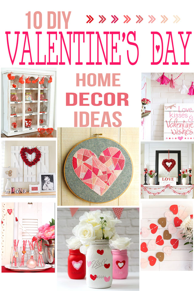 Home Decor Ideas for Valentines day