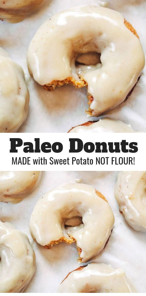 Healthy Paleo Pumpkin Pie Donuts