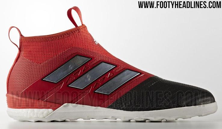 wholesale dealer 6398c a426d Adidas Ace 17+ PureControl Indoor - Rot  Schwarz  Weiß