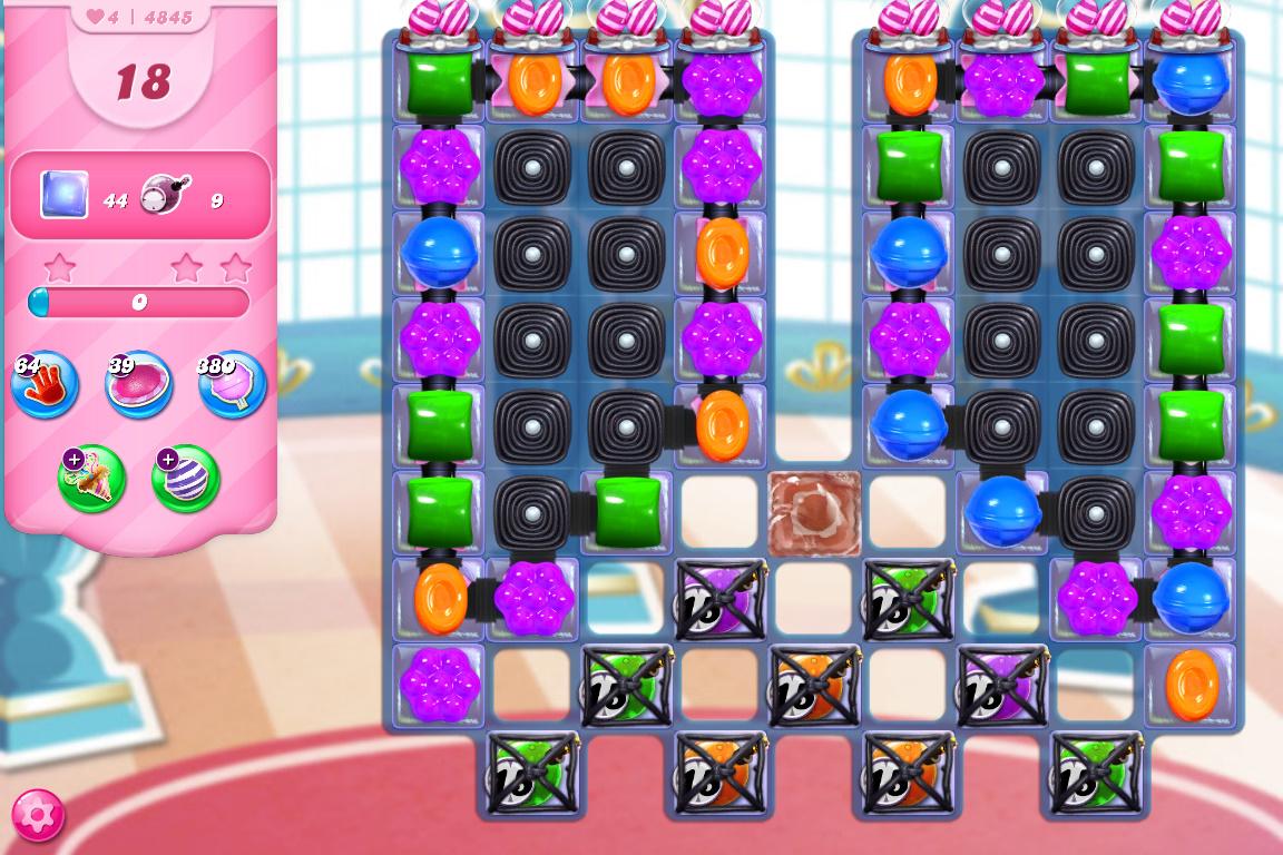 Candy Crush Saga level 4845