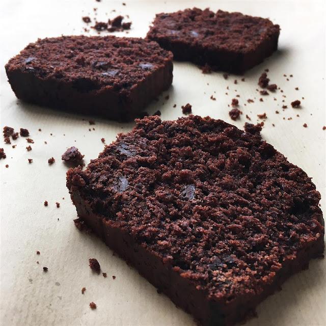 Bizcocho de chocolate especiado