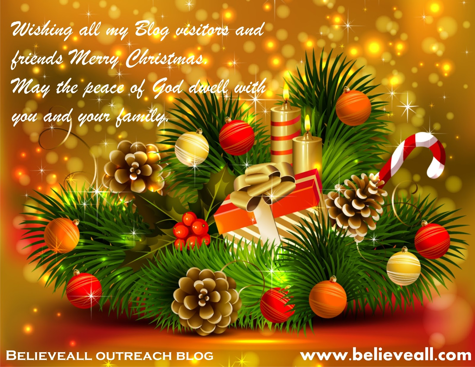 Seasons Greetings To All My Blog Visitors You Are Special