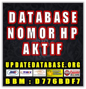 Jual Database Nomor Handphone Aktif