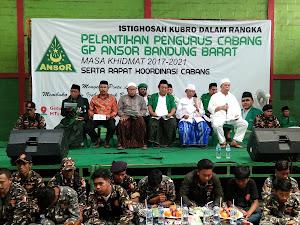 Istighotsah Kubro Digelar di Pelantikan Ansor Bandung Barat