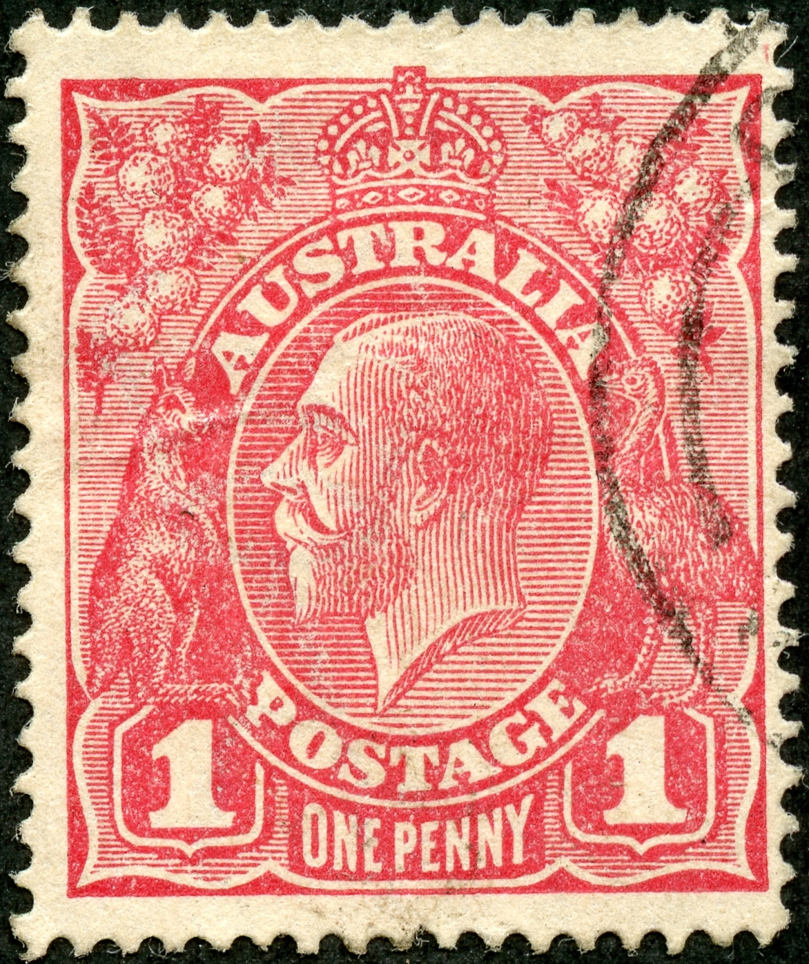 Big Blue 1840-1940: Australia Georges - the KGV stamps