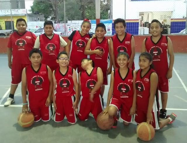 Basquetbol y deportes en Cacalchén, Yuc.