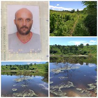 Corpo de homem desaparecido é localizado em açude na Zona Rural de Cuité