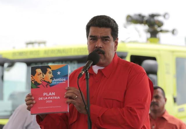 Maduro solicitará a la ANC aprobar el Plan de la Patria 2019-2025