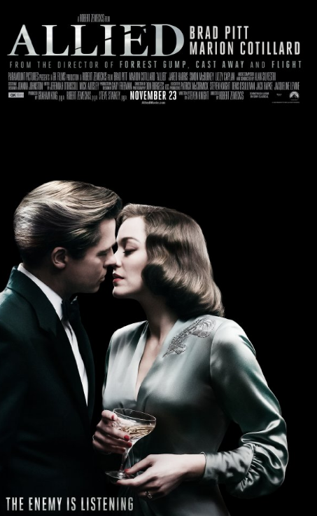 Allied (2016) HEVC Dvdscr x265 605 MB