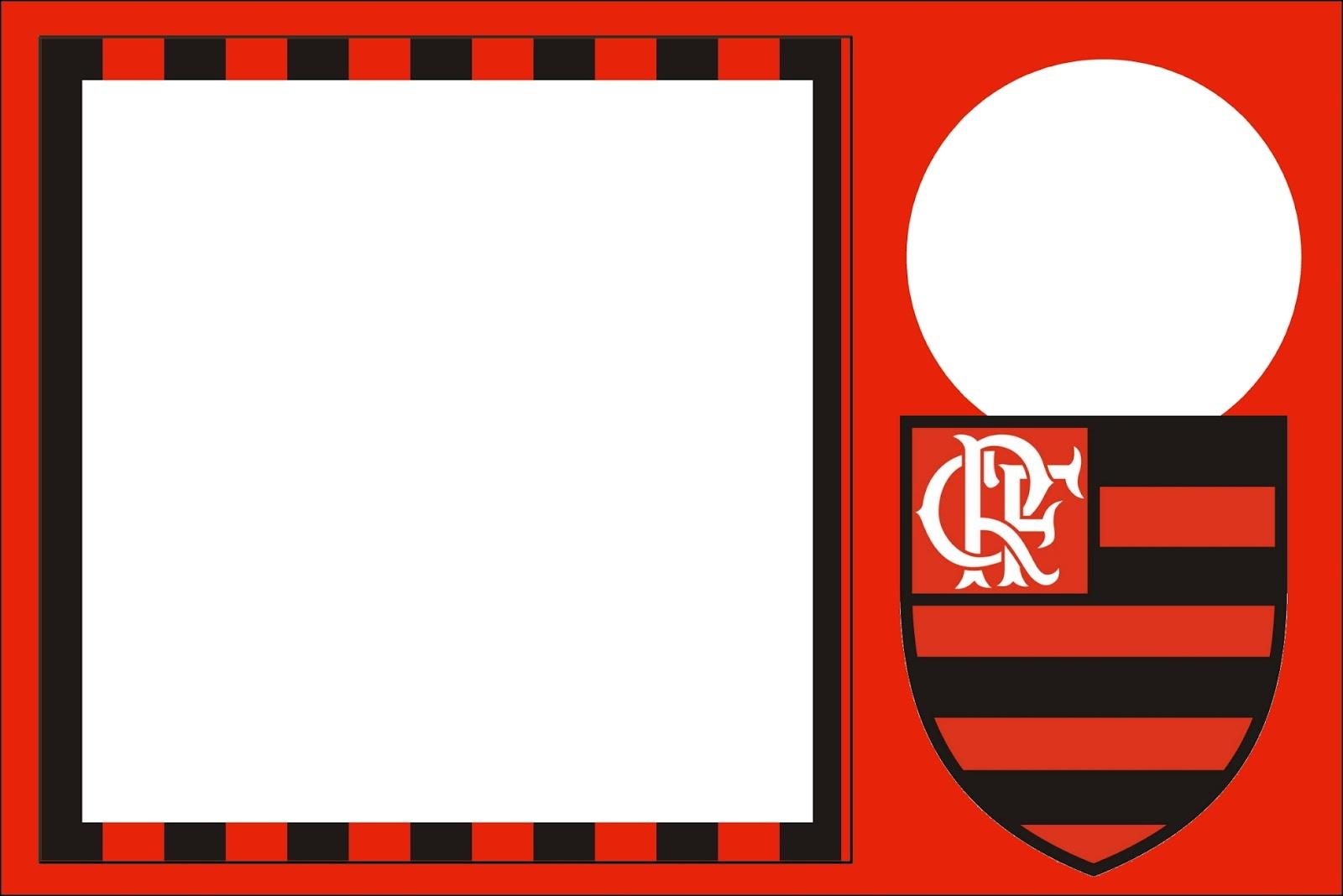 Flamengo Kit Completo Com Molduras Para Convites Rotulos Para