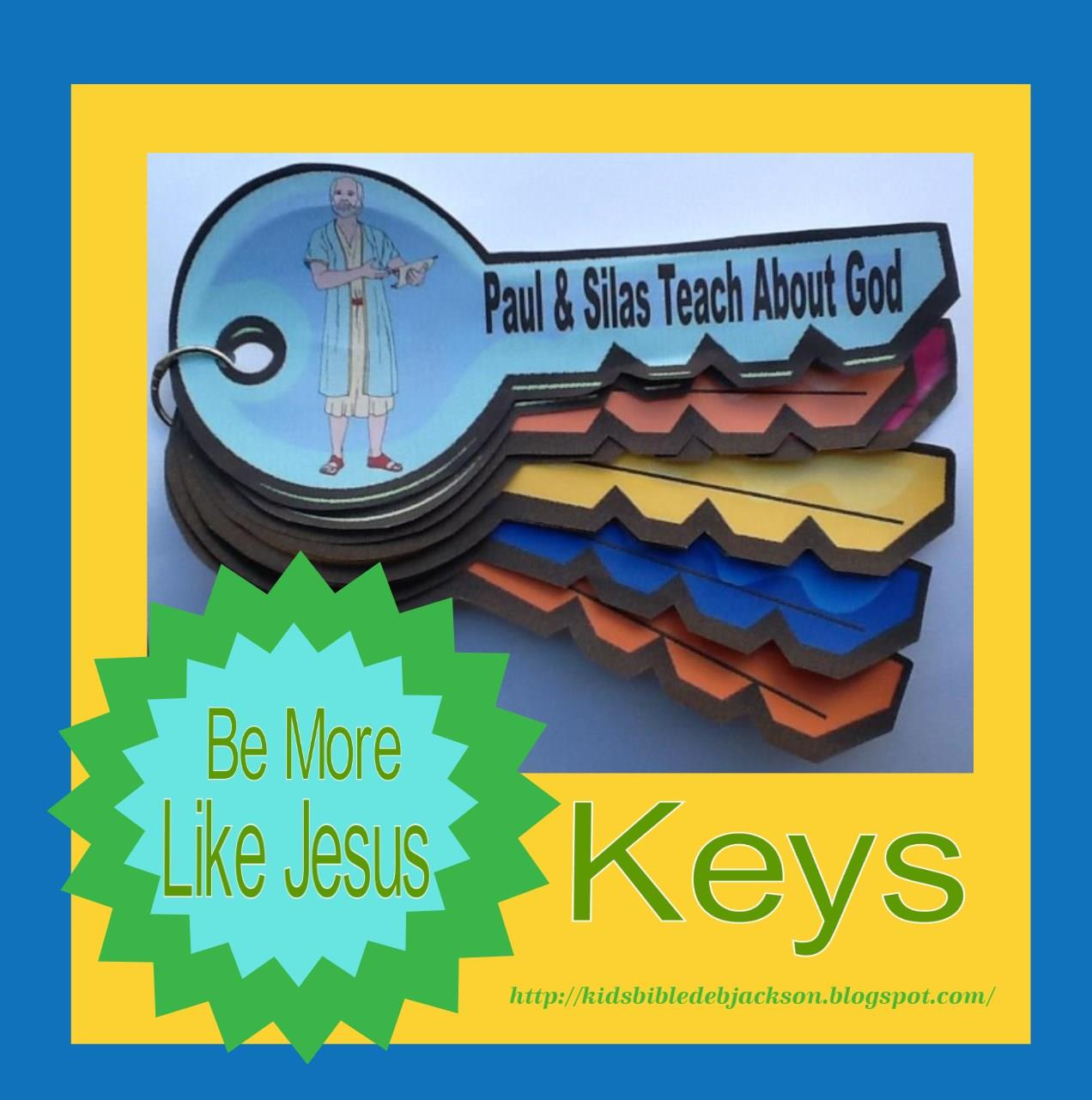 Bible Fun For Kids Paul Silas In Prison