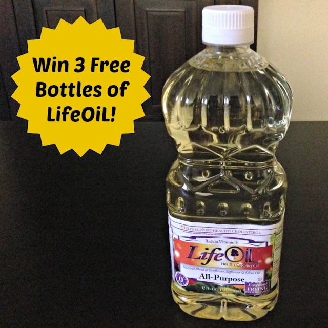 Lighten up with LifeOiL
