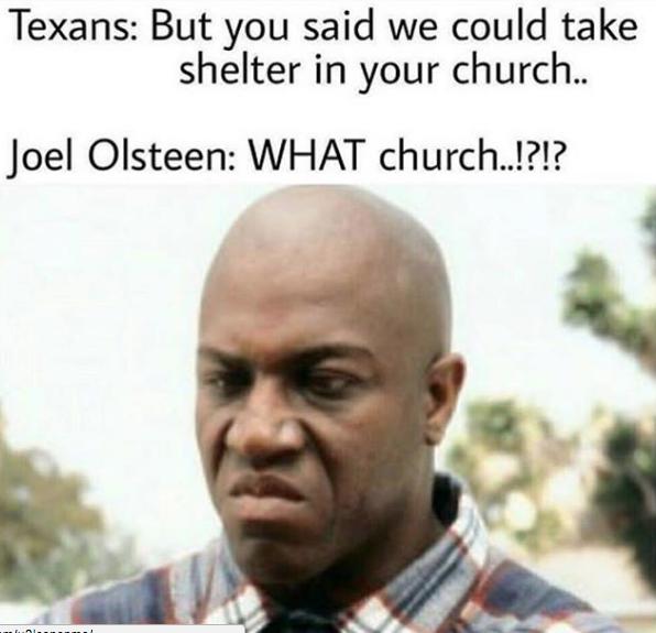 Joel Osteen Memes Hurricane Harvey joel osteen memes top 10, hurricane harvey,Joel Memes