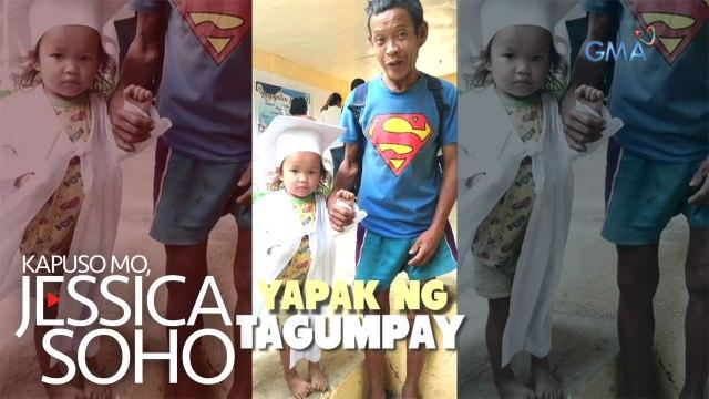 Superman naTatay: Viral na mag-ama sa isang graduation