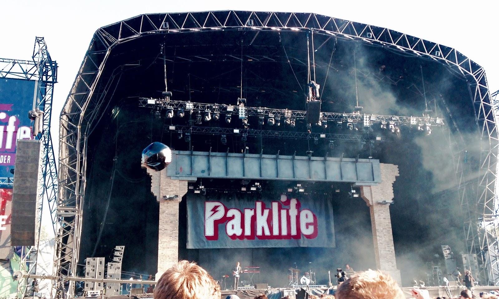 Music Festival Diary - Parklife 2015
