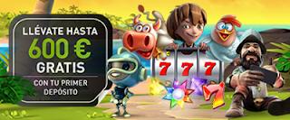 Casino777 600 euros gratis con tu paquete de bienvenida